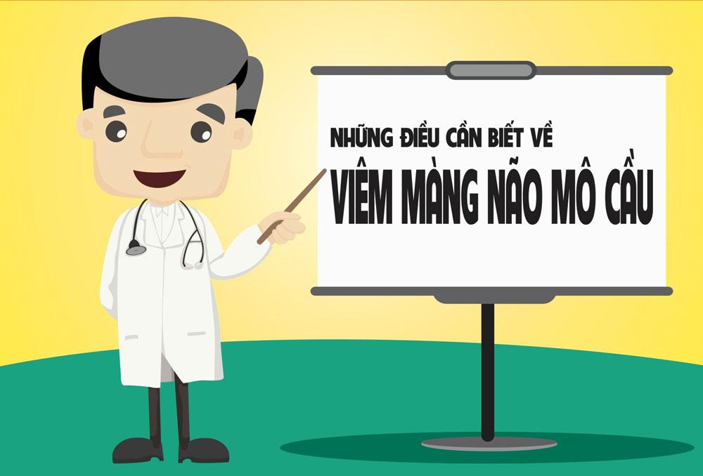 Phát hiện sớm và phòng ngừa viêm não mô cầu