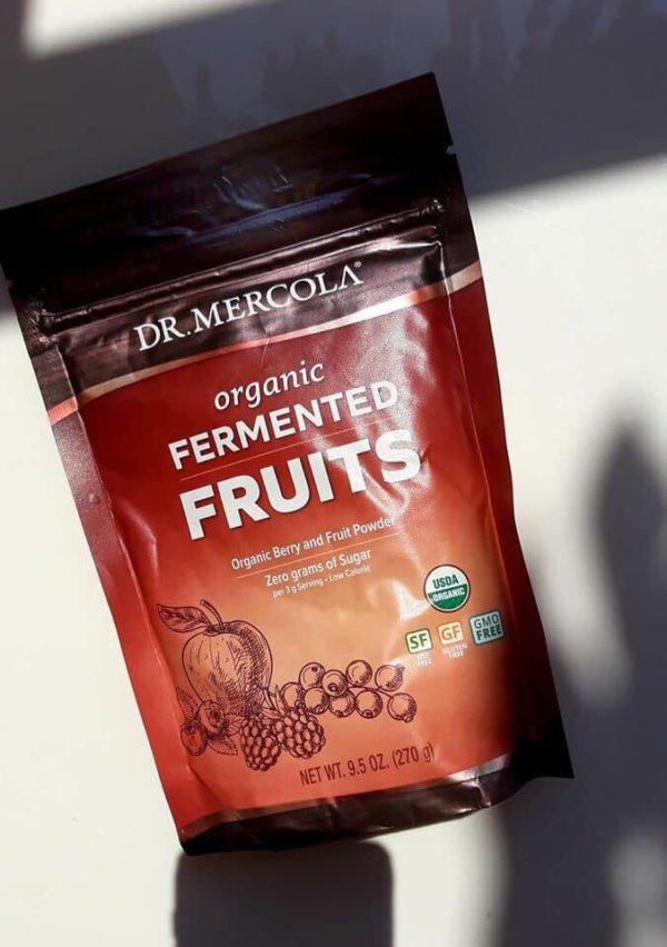 Hỗn hợp trái cây hữu cơ lên men